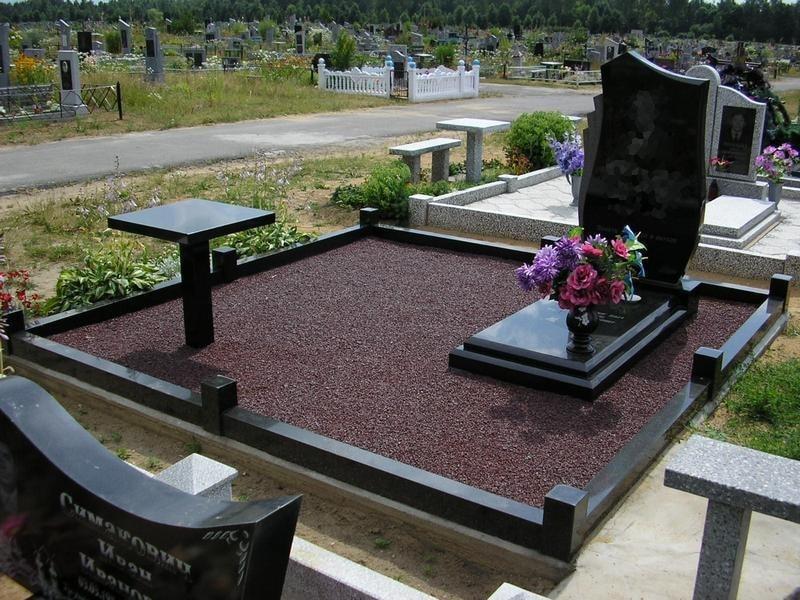 Дизайн могил фото