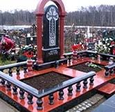 фото и цены памятники на кладбище из гранита №12 от гранитно мастерской Арт гранит, доставка по Киеву и области!