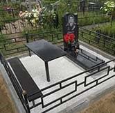 фото памятников на кладбище из гранита №8
