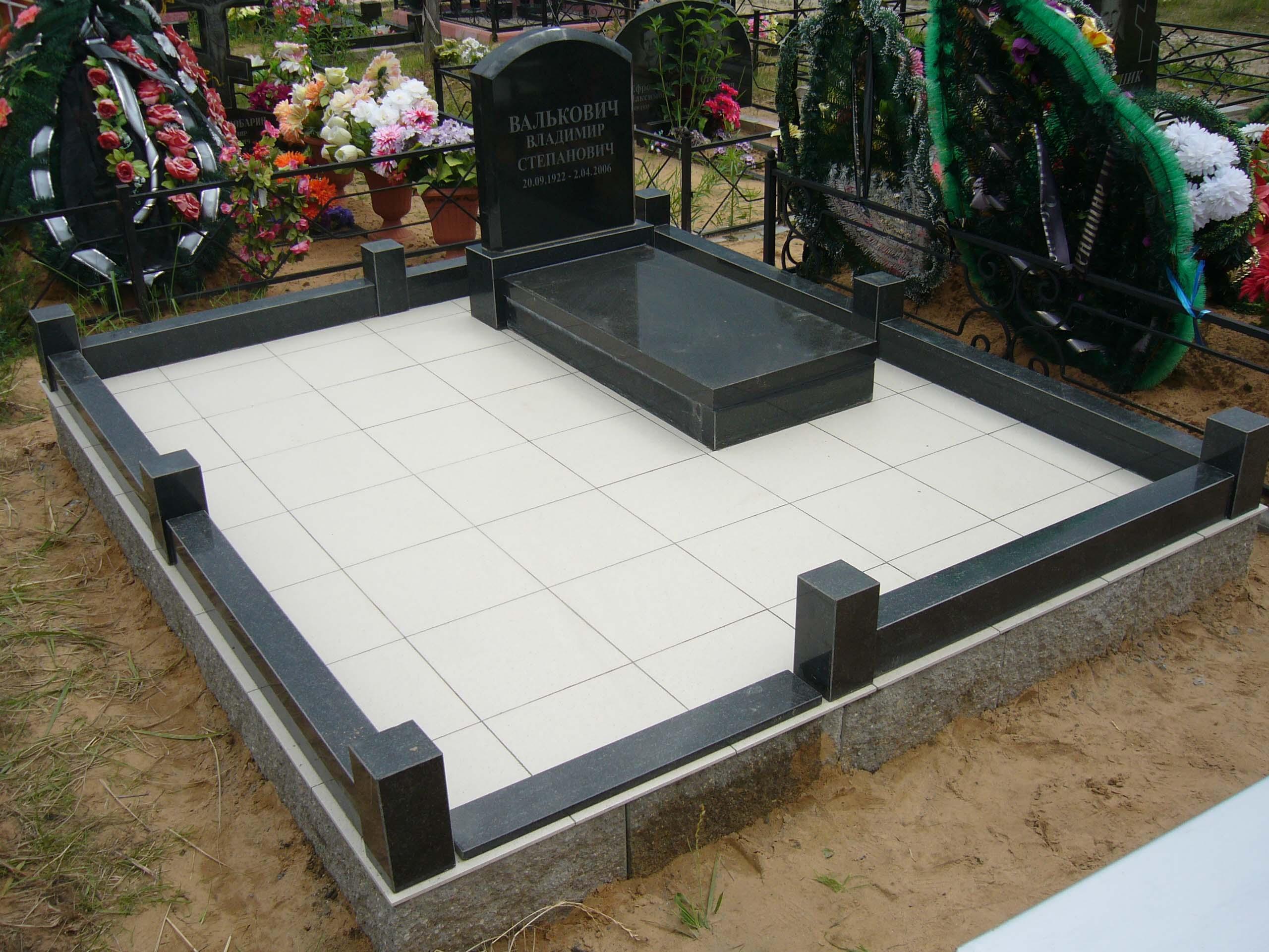 Как положить плитку на кладбище 24